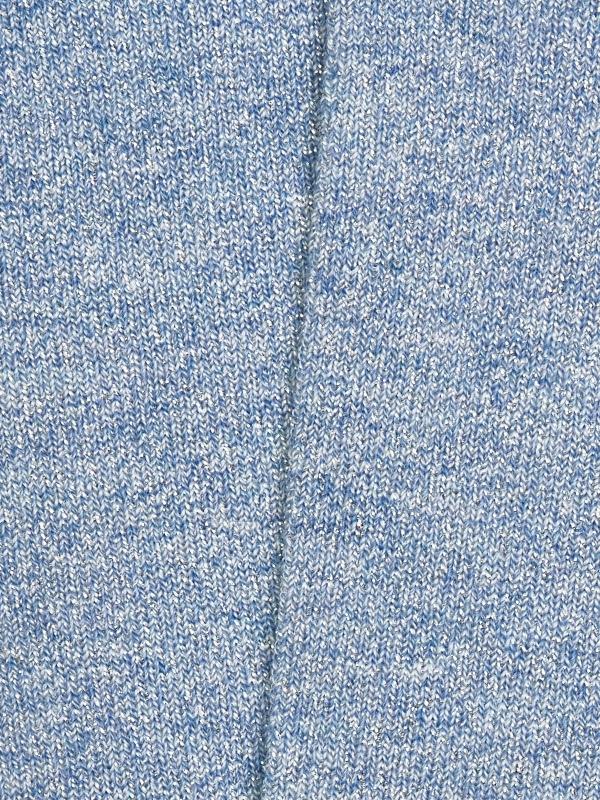 Chaussettes bleu ciel unies et brillantes