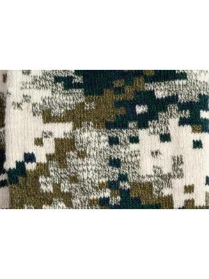 Chaussettes camouflage kaki