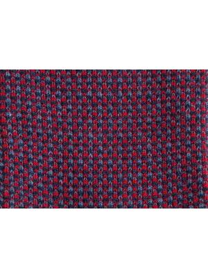 "Chaussettes à jacquard ""tweed"" marine"