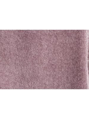 Chaussettes roses en coton velours ultra doux et bord côte brillant
