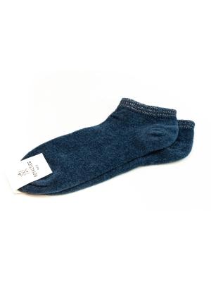 Socquettes bleu pétrole en coton velours ultra doux et bord côte brillant