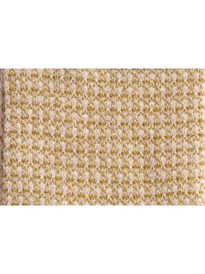 Chaussettes brillantes en nid d'abeille rose poudré