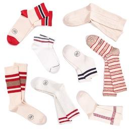 Ivy and Ivory  Decouvrez nos chaussettes inspirées de l'Ivy League, aux accents prep' et sport. Du blanc le plus pur au beige tabac, elles sont en bouclette, à côtes ou en torsades et rehaussées de rayures graphiques et contrastées. _______________  🧦 Disponible sur notre E-shop 🌍 Livraison worldwide 🇨🇵 Fabrication Française  📦 Livraison offerte à partir de 50€ d'achat ________________  #preppysocks #ivystyle #ivyleague #sportsocks #royaltiesparis #madeinfrance #chaussettes #qualité #savoirfaire